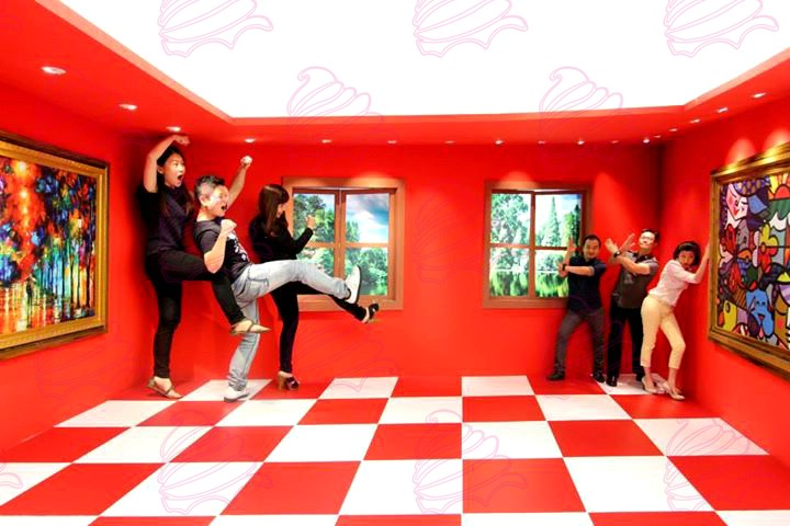 The First Ames Room in Malaysia - Event Management KL - Ice Cream ...